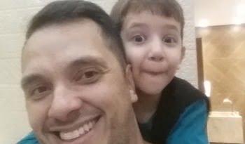O desafio de ser um Papai Fitness