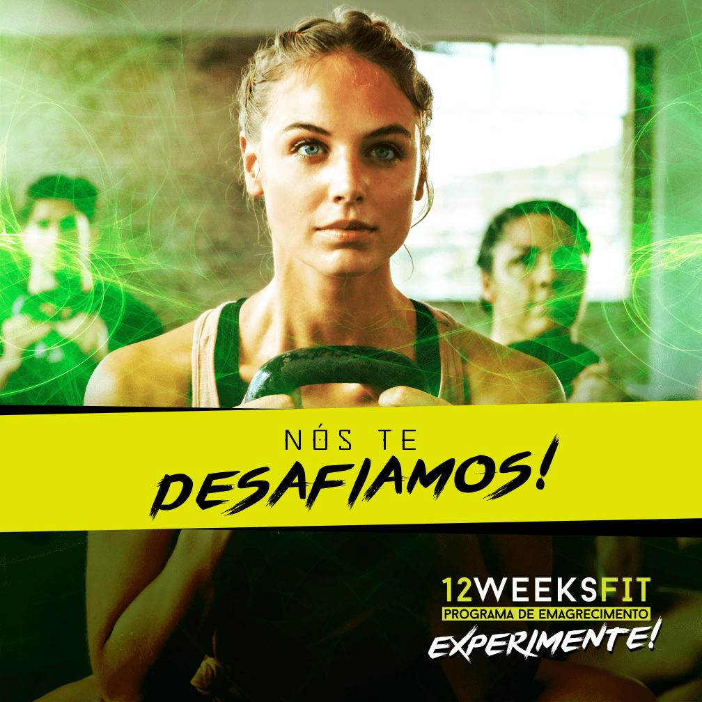 Desafio das 12 Semanas Fit em Rio Preto